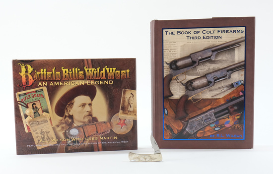 R.L. Wilson Kathy Hoyt Books & Colt Knife
