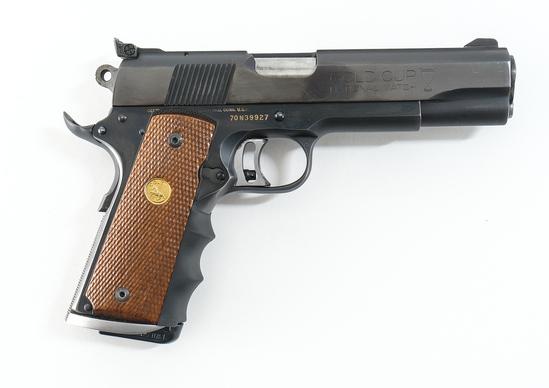 Colt Mk IV Series 70 Gold Cup NM Pistol