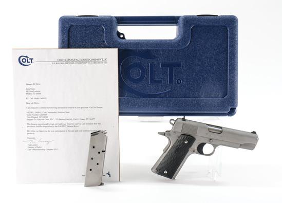 Colt Commander Pistol General Keyes res.