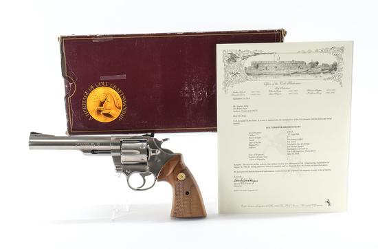 Colt Trooper MKIII .22 Lettered Revolver
