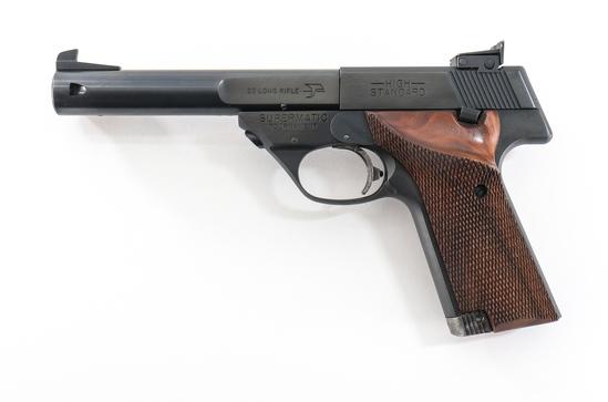 High Standard 107 Military Supermatic Pistol
