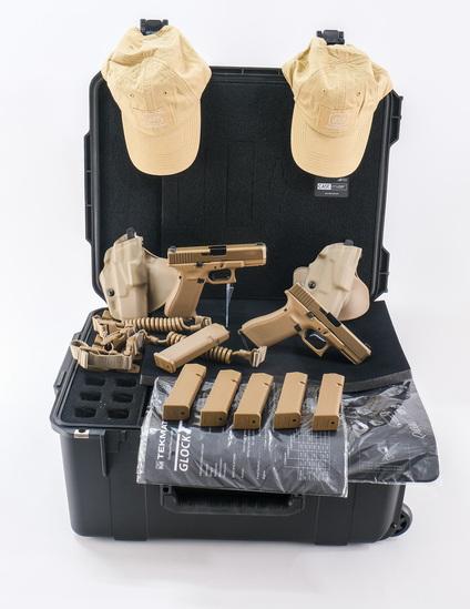 Dual Glock 19x Pistol Deployment Kit