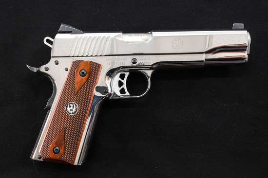Ruger SR1911 .45 ACP Pistol High Polish Stainless