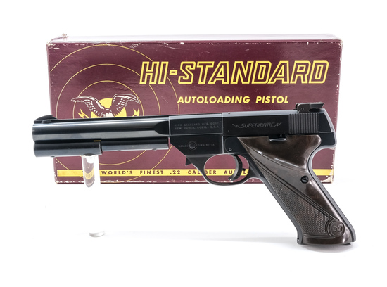 High Standard 9119 Supermatic .22 LR Pistol