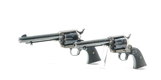 Pair of Colt 3rd Gen SAA Revolvers .357 Magnum