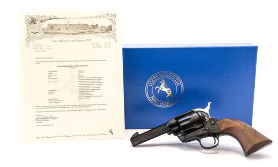 Prototype Colt Custom Storekeepers Revolver .45 LC