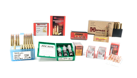 .405 Winchester Ammunition and Reloading lot