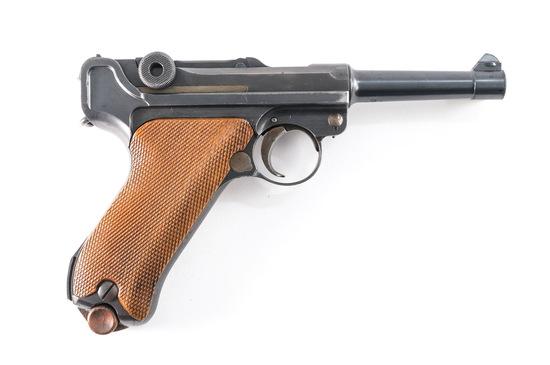 DWM .30 Luger Pistol