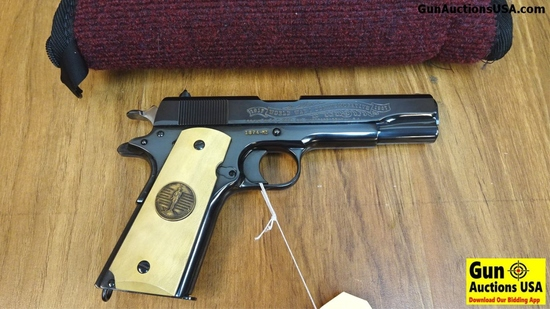 "Colt 1911 WORLD WAR I COMMEMORATIVE .45 ACP Semi Auto Pistol. Excellent Condition. 5"" Barrel. Shiny"
