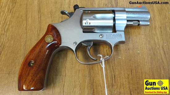 "S&W 651-1 .22 M.R.F. Magnum Stainless Revolver. Excellent Condition. 2"" Barrel. Shiny Bore, Tight Ac"