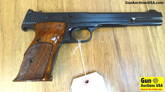 "S&W 41 .22 LR Semi Auto Collector's Pistol. Excellent Condition. 7"" Barrel. Shiny Bore, Tight Action"