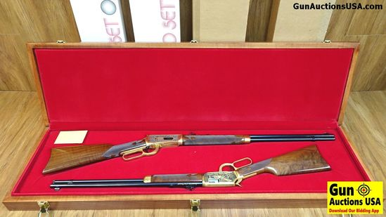 Winchester 94 MATCHED SET OF 1000, .30-30 / 9422M Magnum Collectors Rifles. NEW in Box. A Beautiful
