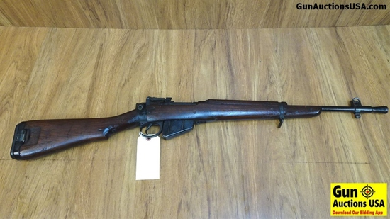 "BRITISH NO. 5. MK. 1. 303 Bolt Action Collector's Rifle. Good Condition. 20"" Barrel. Shiny Bore, Tig"