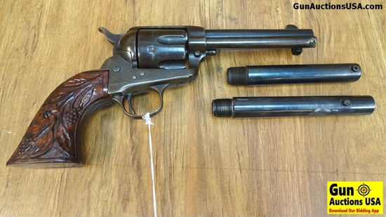 "COLT SINGLE ACTION ARMY .44-40 3-Barrel Setup Revolver. Excellent Condition. 5"" Barrel. Shiny Bore T"