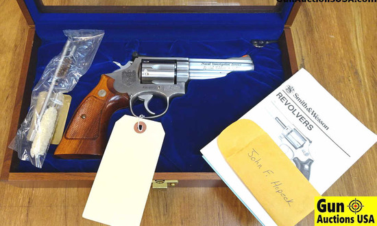 "S&W 66-2 .357 MAGNUM NIS (Pre-NCIS) Revolver. Like New. 4"" Barrel. Shiny Bore, Tight Action Special"
