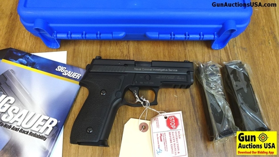 "SIG ARMS NCIS P229 NAVAL (SEQUENTIAL SN to Next Lot)  .40 S&W NCIS Pistol. NEW in Box. 3.75"" Barre"