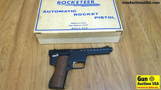 Rocketeer MARK I Model B Automatic Gyrojet Rocket MBA Pistol 13MM Gyro jet Semi Auto Collector Pisto
