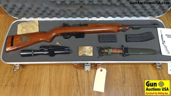 UNIVERSAL M1 CARBINE 1941-1981 US NAVY COMMEMORATING WAR & PEACE .30 Cal. Semi Auto Collector's Rifl