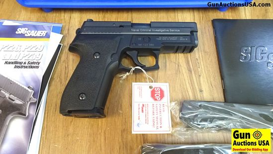 SIG NCIS P229 NAVAL (SEQUENTIAL SN to Previous Lot) .40 S&W NCIS Pistol. NEW in Box.