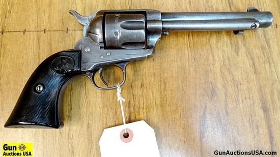 "Colt 1892 FRONTIER SIX SHOOTER .44/40 COLLECTOR'S Revolver. Good Condition. 5.5"" Barrel. Shootable B"