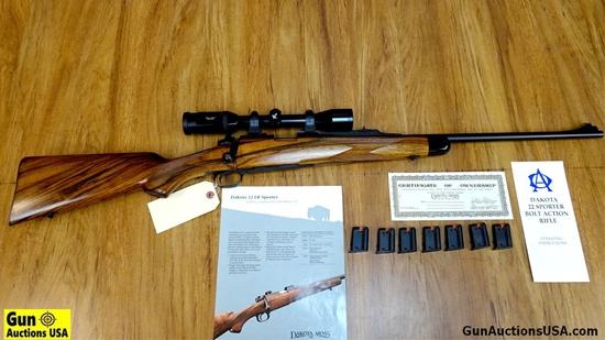 "DAKOTA ARMS DAKOTA 22 .22 LR Rifle. Excellent Condition. 22"" Barrel. Shiny Bore, Tight Action EXQUIS"