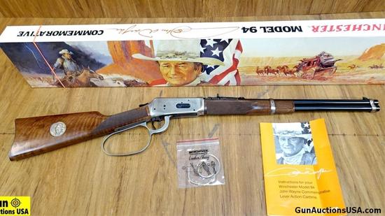 """Winchester 94 JOHN WAYNE COMMEMORATIVE .32-40 WIN Commemorative Rifle. NEW in Box. 18.5"""" Barrel. The"""