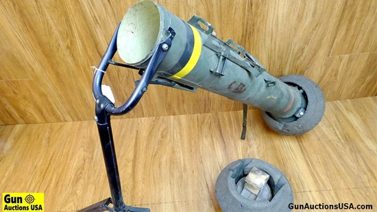 U.S. Army M47 Launcher. Very Good. Anti Tank Launcher, Inert, Commonly Called the Dragon. . (48618)