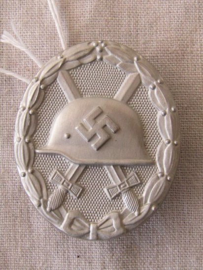 German World War II Silver Wound Badge  | Firearms