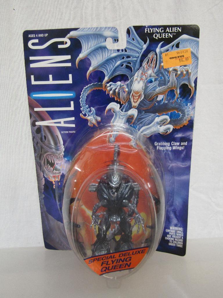 Lot 1992 Aliens Flying Alien Queen Action Figure Kenner New On