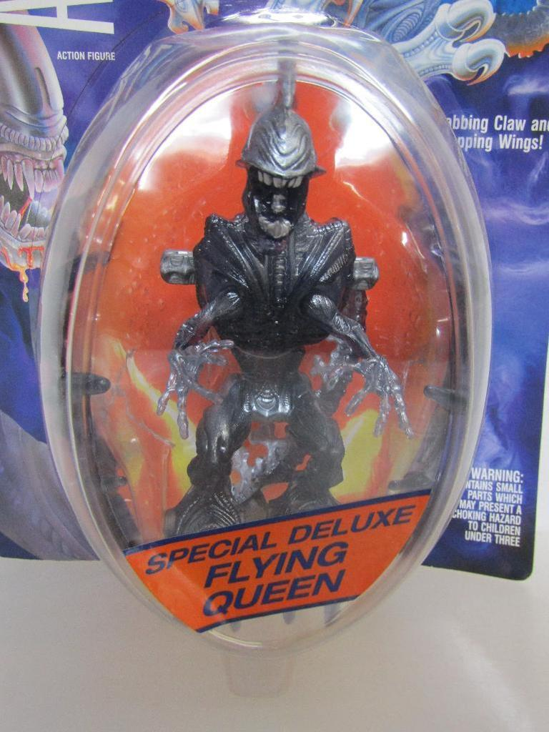 Lot 1992 Aliens Flying Alien Queen Action Figure Kenner New On