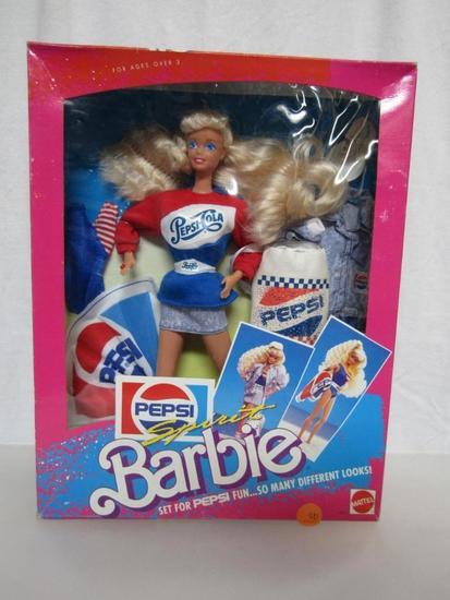 Barbie Doll  1989 Pepsi Spirit    Auctions Online | Proxibid