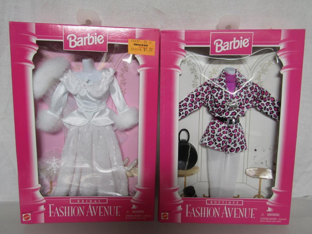 Barbie Fashion Avenue 2 Outfits 1996 Bridal 1996 Boutique New In Boxes Art Antiques Collectibles Toys Hobbies Dolls Barbie Contemporary 1973 Now Auctions Online Proxibid