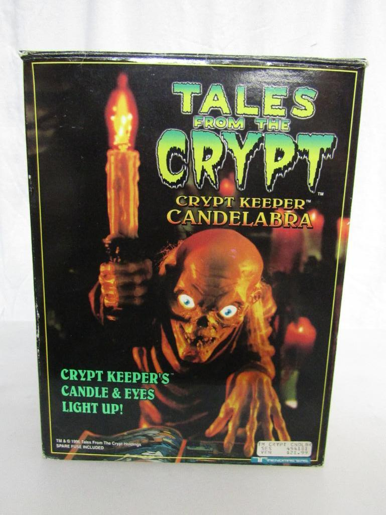 Tales From The Crypt Crypt Keeper Candelabra 1996