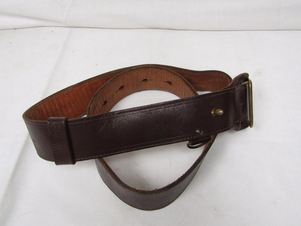 US Military Sam Browne Belt  |    Auctions Online | Proxibid