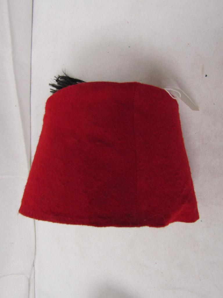 6f7a048bd Lot: Egyptian Tarbush (Fez) Hat. Reproduction. | Proxibid Auctions