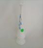 Fenton white Hobnail Blue Bell Bud Vase