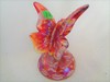 Fenton Red Carnival Butterfly HP by Sponsler