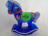 Fenton Cobalt Rocking Horse HP By Marilyn Wagner