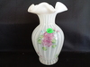 Fenton French Opalescent Rib Optic HP Vase