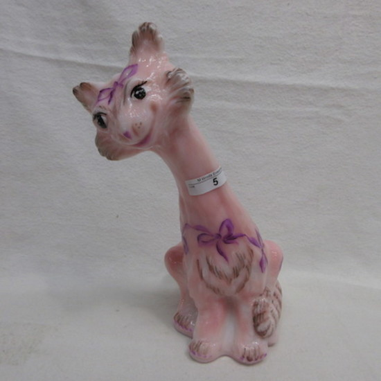 Fenton HP Roselene Alley Cat - M. Reynolds OOAK Signed KElsey/Bomkamp This