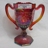 Fenton Red Good Luck Loving CUp