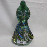 Fenton HP Green Southern Bell Mary Walrath Special Edition Bell - Only avai