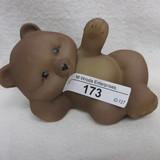 Fenton HP Reclining Posed Bear - Powell