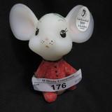 Fenton Christmas Mouse
