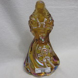 Fenton HP Southern Bell - Walrath - Amber MATCHED NUMBER SET (221- 226) #17