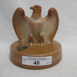 Fenton Eagle Paperweight - chocolate