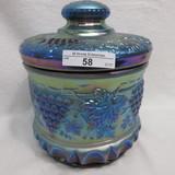 Fenton Favrene Satin G&C Tobacco Jar