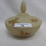 Fenton HP Custard Chocolate Roses covered Candy
