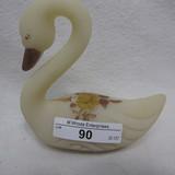 Fenton HP Custard Swan -
