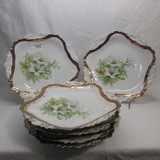 Set of 6 RS Prussia Easter Lily 9